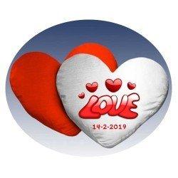 Cojín corazon personalizado